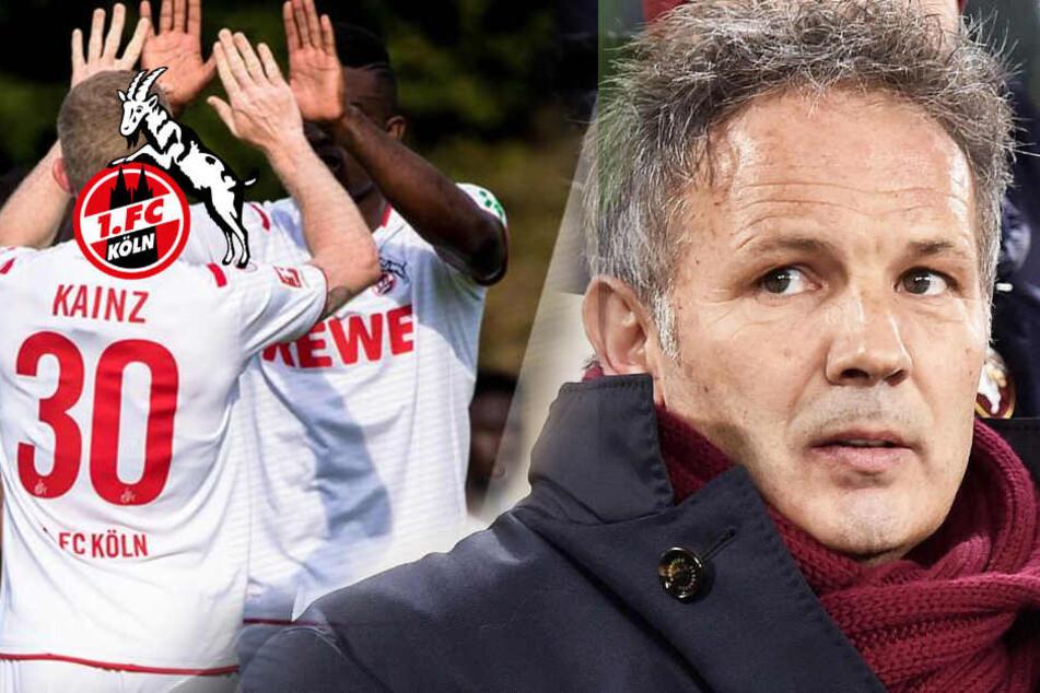 Kampf gegen Krebs: 1. FC Köln drückt gegnerischem Trainer die Daumen