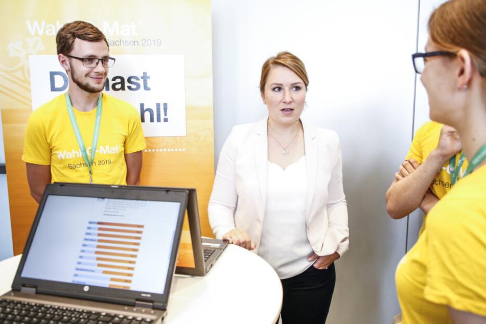Kristin Franke von der FDP hatte beim Wahl-O-Mat die CDU ganz vorne.