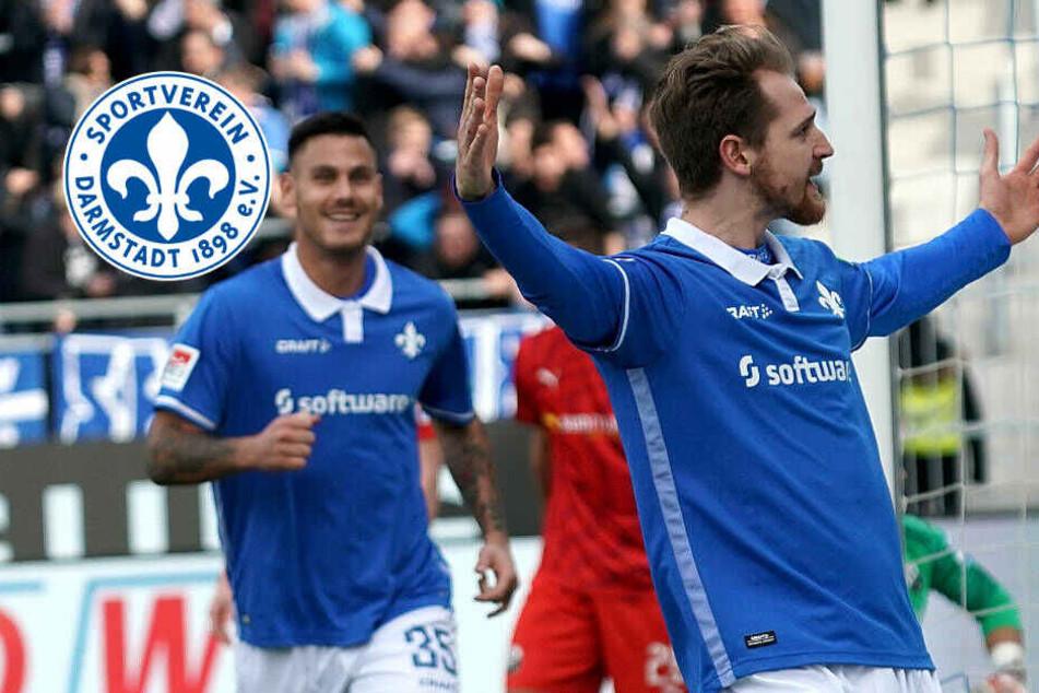 SV Darmstadt 98 mit Sieg des Willens gegen Sandhausen! Höhn trifft und fliegt