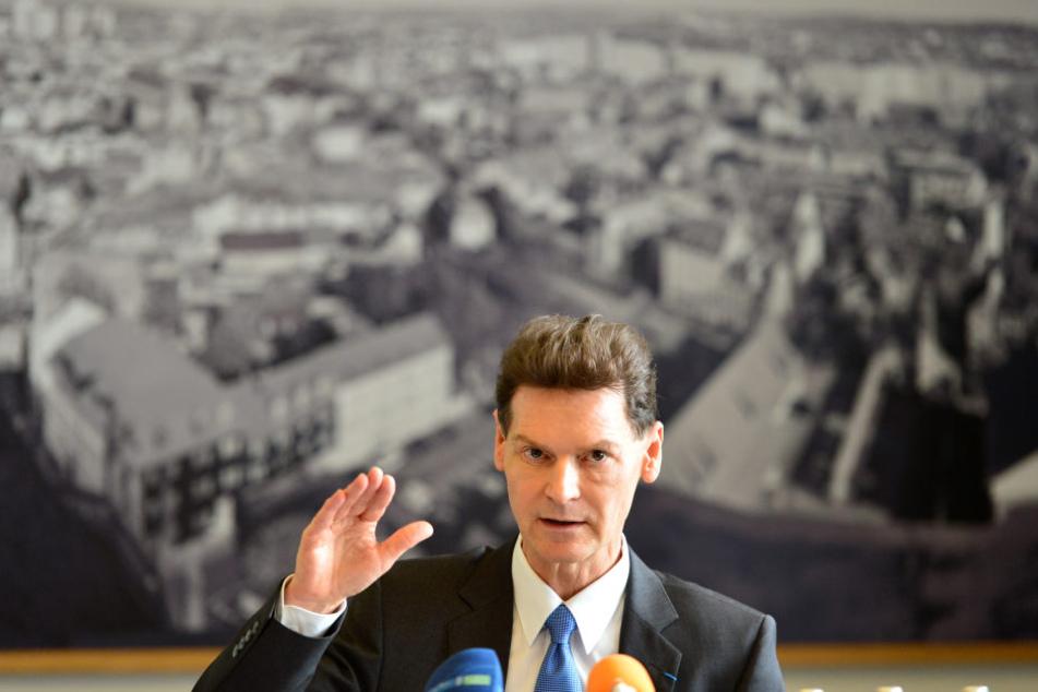 Gerald Grusser, Hauptgeschäftsführer der Industrie- und Handelskammer Erfurt (IHK).