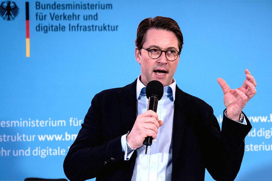 Bundesminister für Verkehr und digitale Infrastruktur, Andreas Scheuer (44, CSU).
