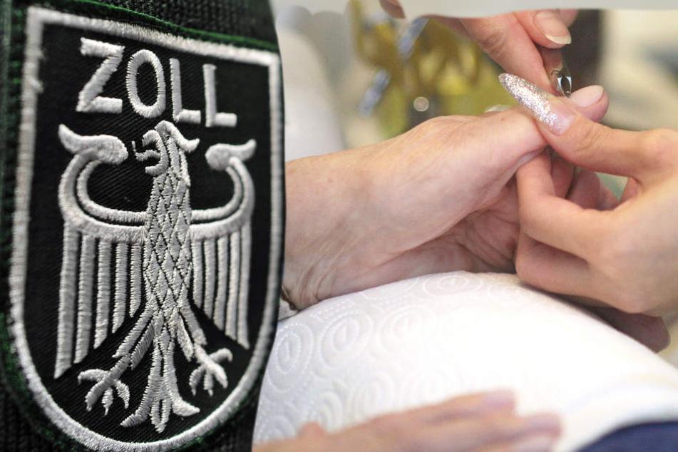 Der Zoll überprüfte mehrere Nagelstudios in der Innenstadt von Fulda (Symbolbild).