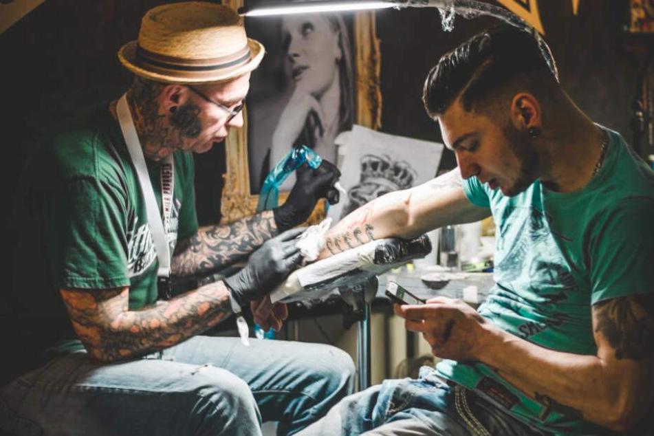 Aufs zweite Halbjahr verschoben: die Tattoo-Messe in Leipzig.