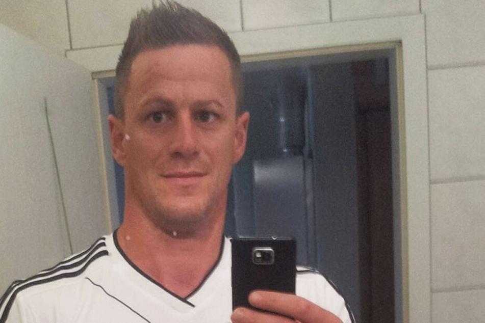 Steffen (39) auf einem Facebook-Selfie.