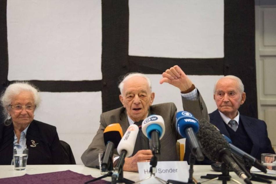Letzter Auschwitz-Häftling sagt gegen SS-Mann aus
