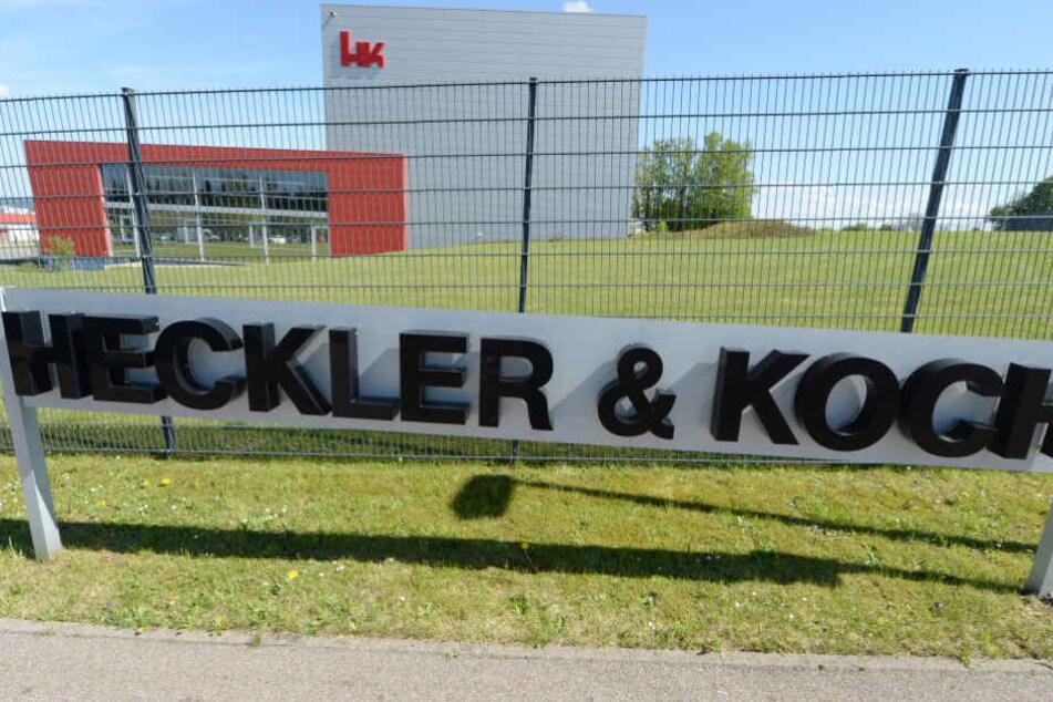 Der Waffenhersteller Heckler & Koch hat seinen Sitz in Oberndorf (Kreis Rottweil) in Baden-Württemberg.