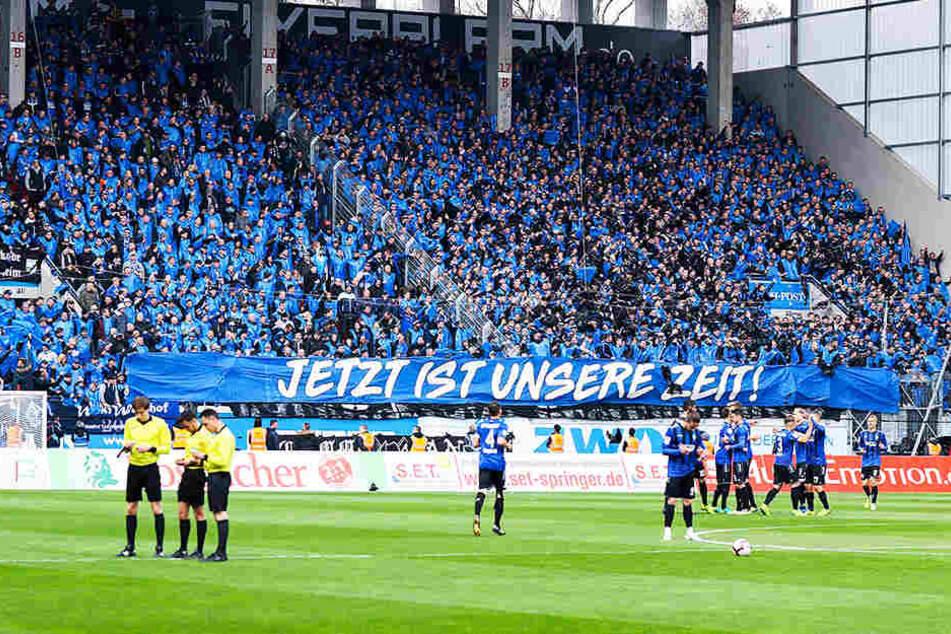 4000 Waldhof-Fans begleiteten Mannheim nach Offenbach.