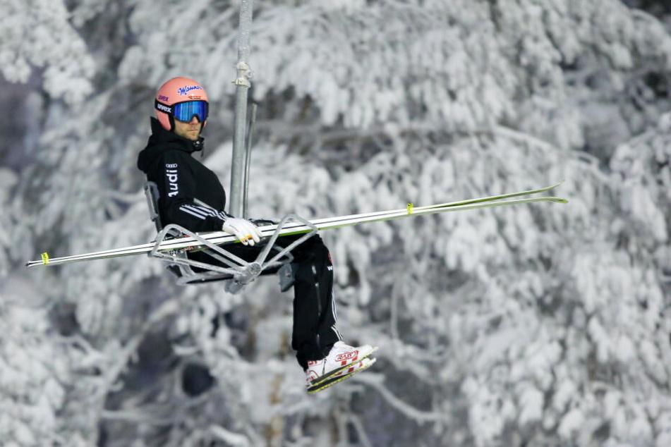 Die Skisprung-Elite trägt Rass, auch der deutsche Skispringer Pius Paschke (hier beim Nordic Opening in Finnland im November).