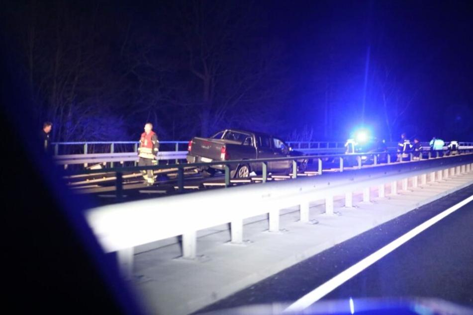 Auf der B2 ereignete sich am Dienstagabend ein schwerer Unfall.