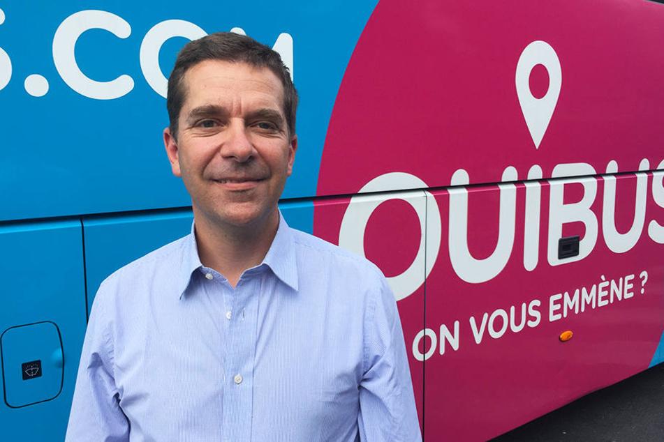 Ouibus-Chef Roland de Barbentane will auch in Deutschland Fuß fassen.