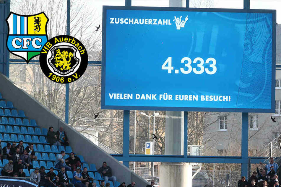 Chemnitzer Video-Wand gehört jetzt VfB Auerbach
