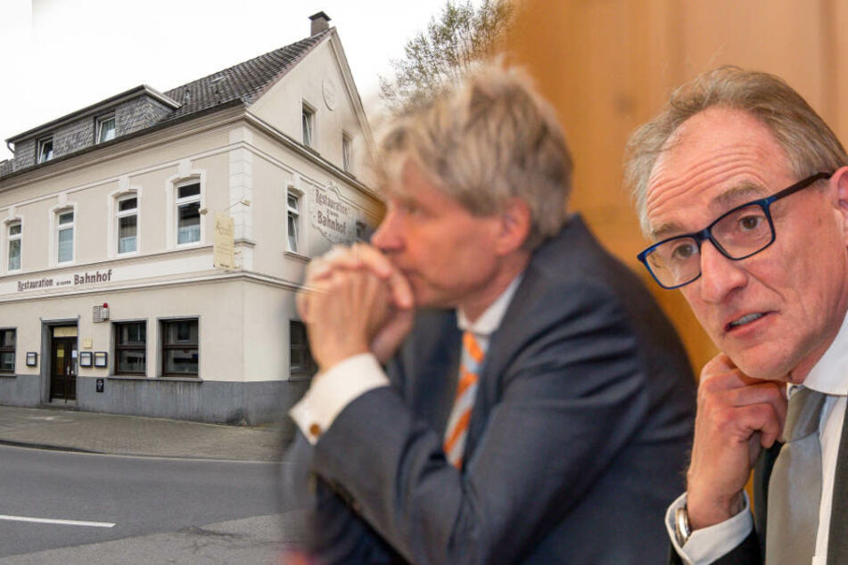 Das von Dr. Harald Rau (r.) geleitete Sozialdezernat gab im Sozialausschuss neue Antworten zum Hotel-Skandal.