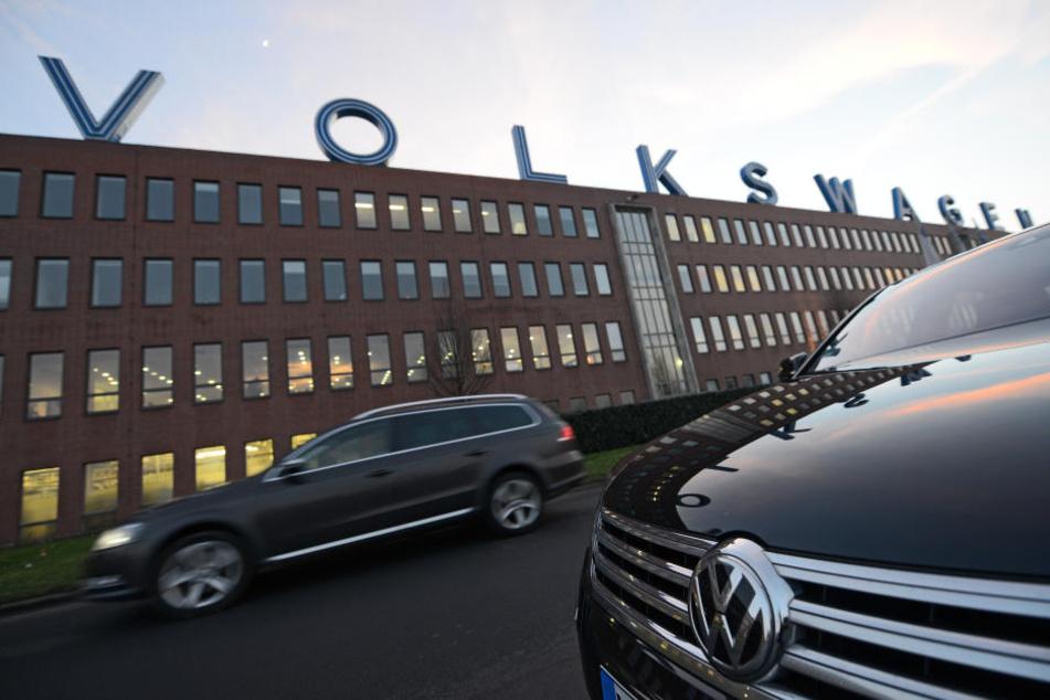 Bei VW in Kassel rollen bald E-Autos vom Fließband. (Symbolbild)