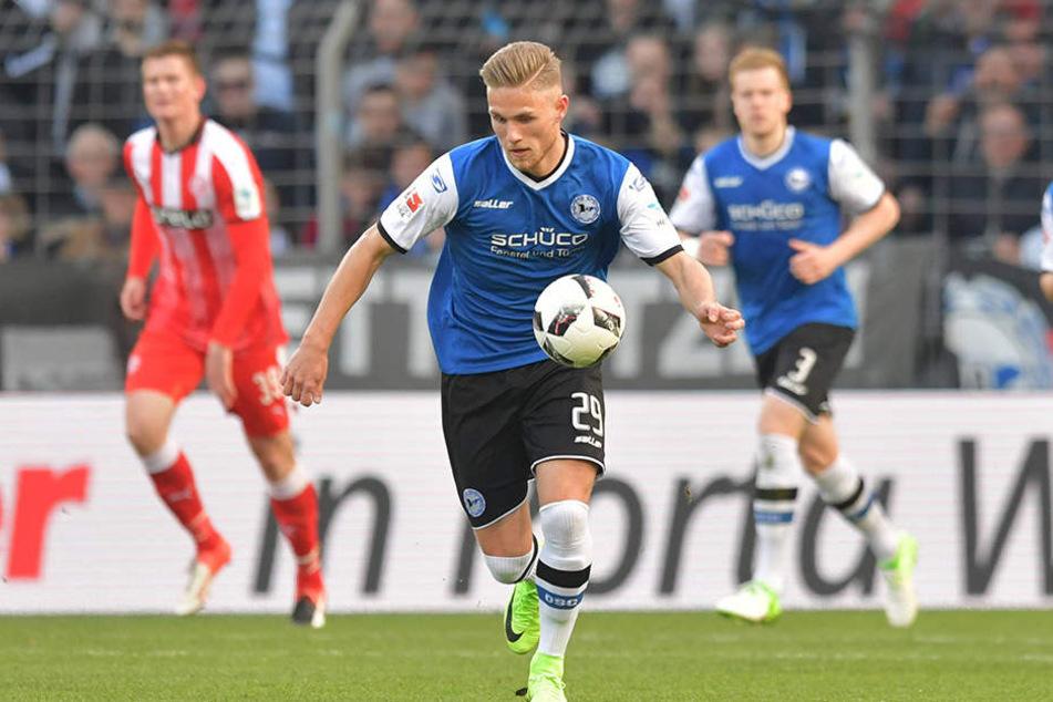 Am Ende der Saison kehrt Leihgabe Leandro Putaro wieder nach Wolfsburg zurück.