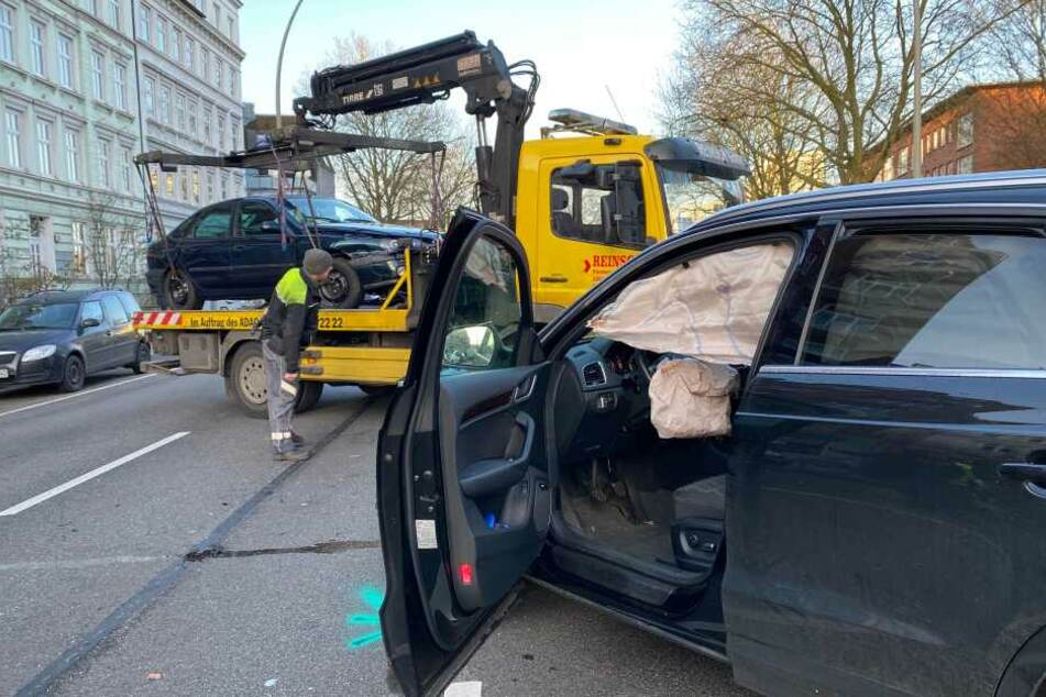 Unfall in Hamburg sorgt für Chaos im Berufsverkehr