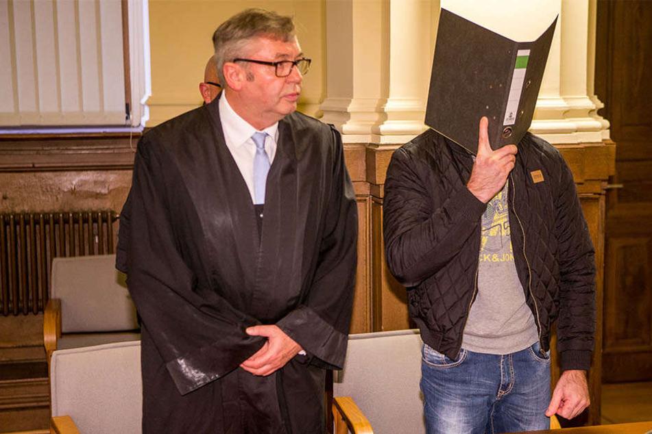 Das Gericht verurteilte Frank L. (r.) zu knapp sieben Jahren Haft.