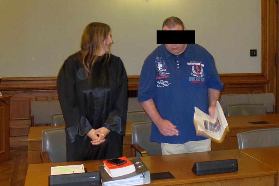 Maik V. (39) muss wegen Totschlags, Misshandlung von Schutzbefohlenen und gefährlicher Körperverletzung in den Knast.