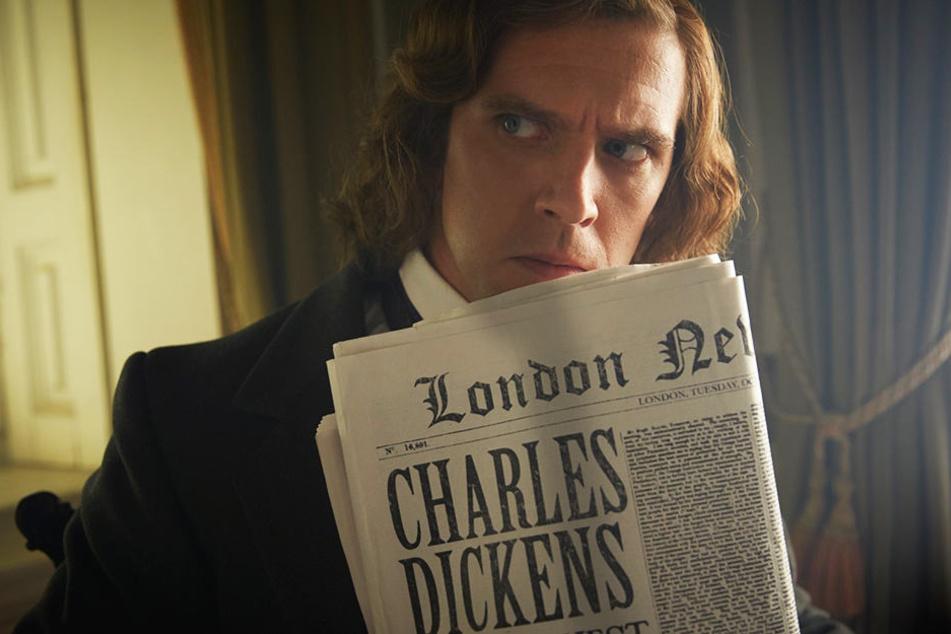 Charles Dickens (Dan Stevens) hat eine Schreibblockade. Wovon soll sein nächster Roman handeln?