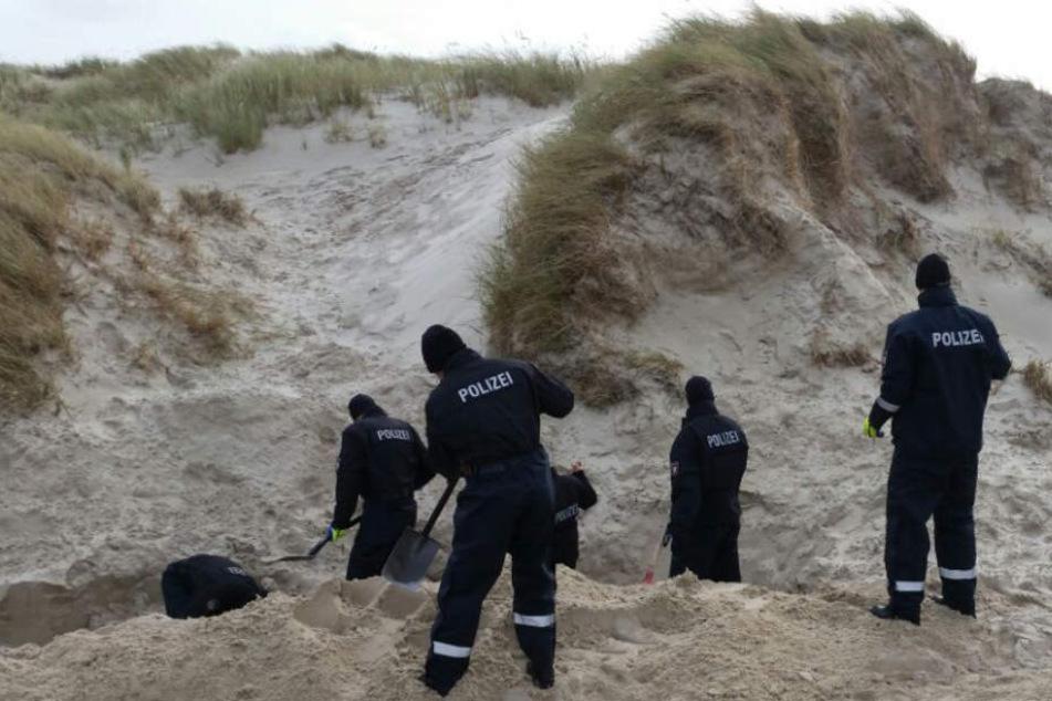 An der Südspitze der Insel sucht die Polizei nach der Leiche (Archivfoto).