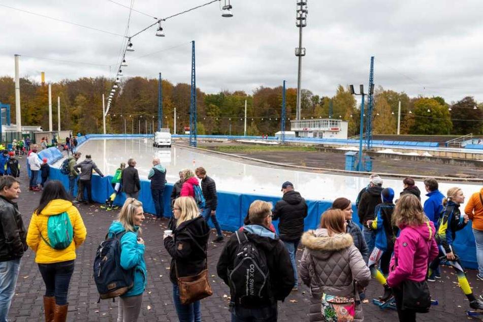 Die Wetterbedingungen waren nicht ganz optimal, trotzdem lieferten die Athleten einen spannenden Wettkampf ab.