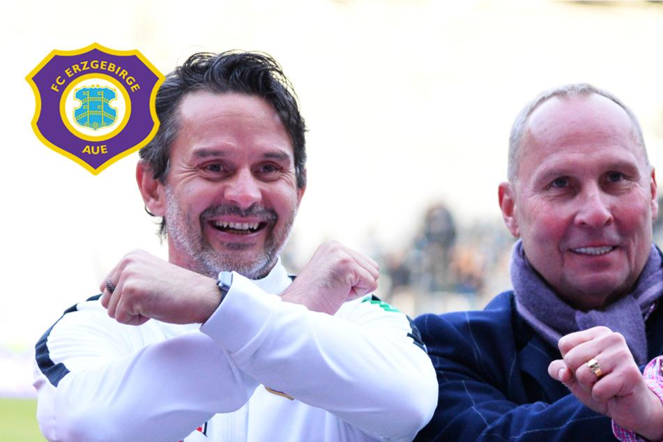 Aue-Coach Schuster kontert Leonhardt-Kritik und muss nun gegen Heidenheim liefern!