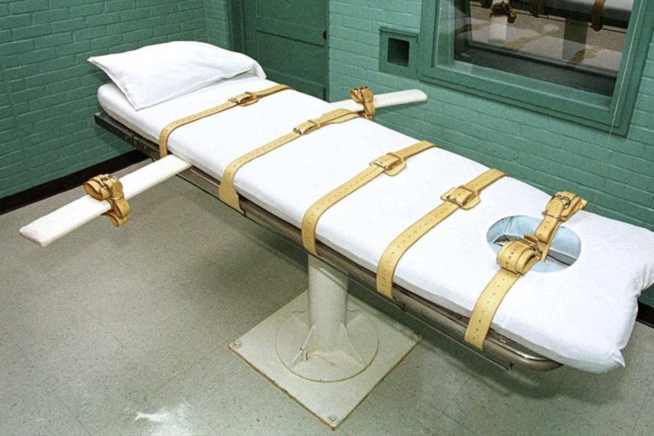 In den USA quälte sich ein Häftling durch eine bestimmte Giftinjektion noch minutenlang.