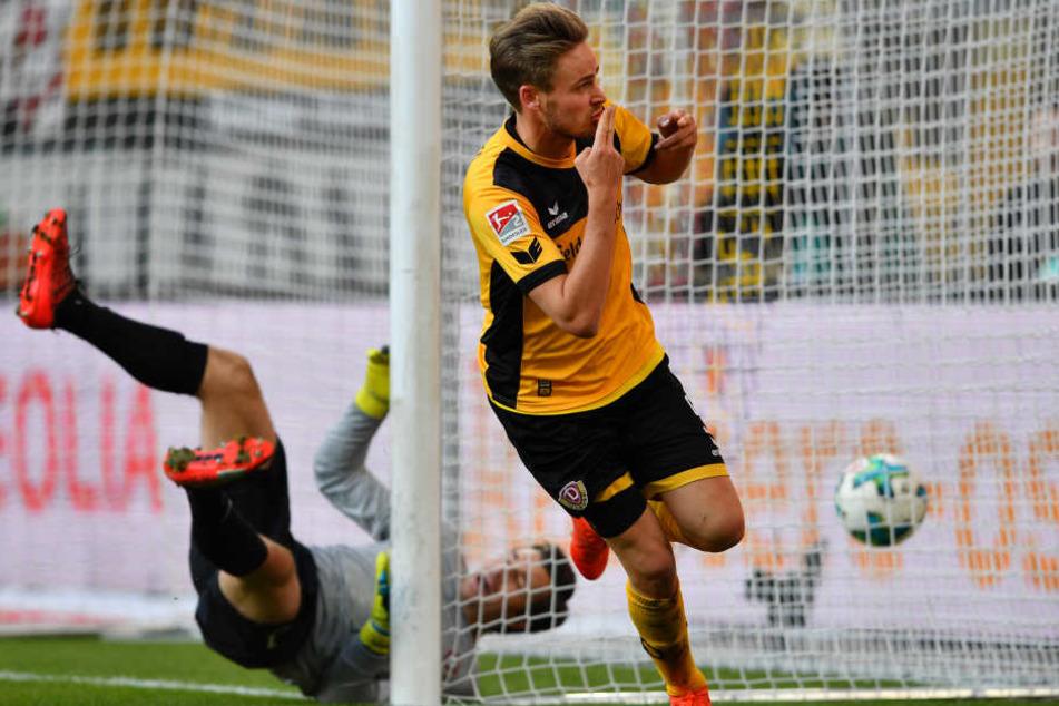Lucas Röser traf mit seinem fünften Saisontor zum 2:0.
