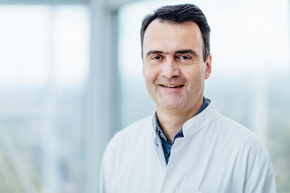 Mathias Hänel (53) kämpfte um das Leben seines Patienten.