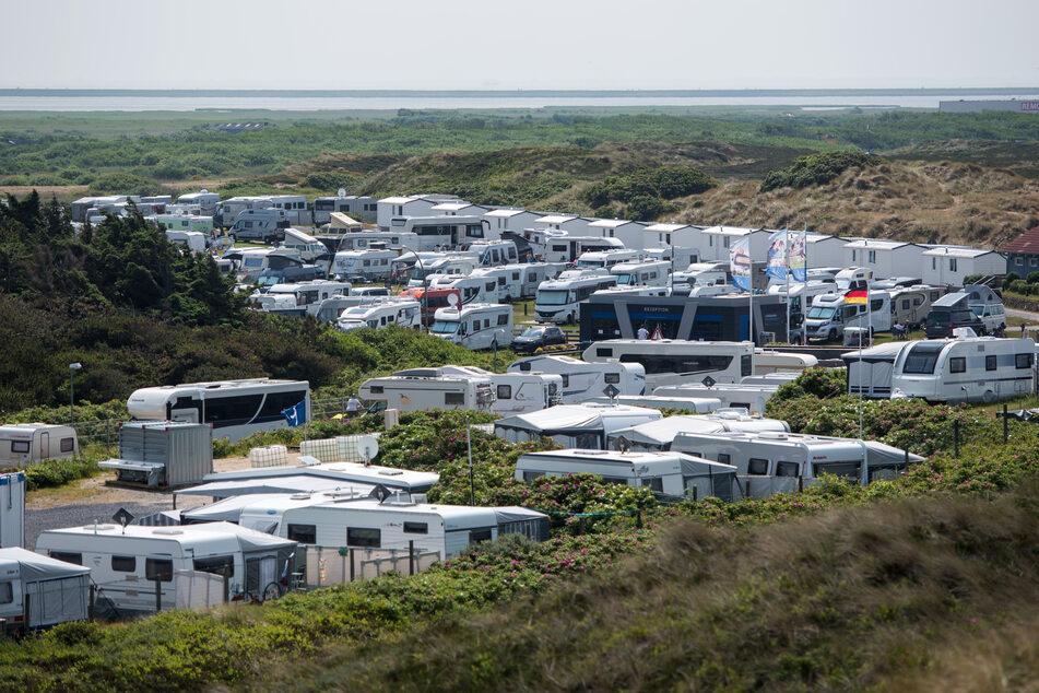 Die Campingplätze sind vielerorts wieder gut gefüllt.