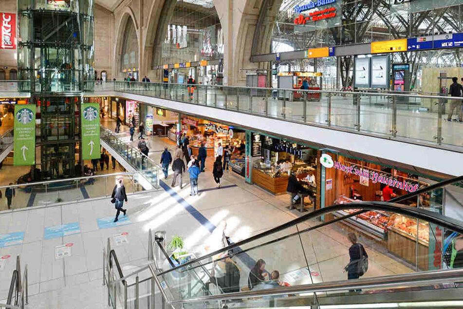25 Millionen Besucher strömen jährlich in den Leipziger Hauptbahnhof.