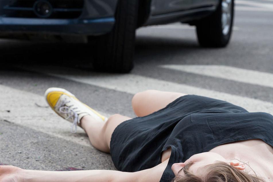 Statt sich um die Verletzten zu kümmern, hauten die Straßen-Raudis einfach ab (Symbolbild).