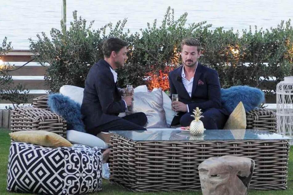Zwischen Dominic (l.) und Prinz Nicolas herrschte bei der Gentlemen's Night Redebedarf.
