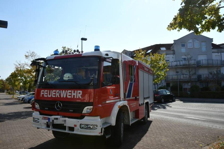Schnell rückte die Feuerwehr an den Ort des Geschehens aus.