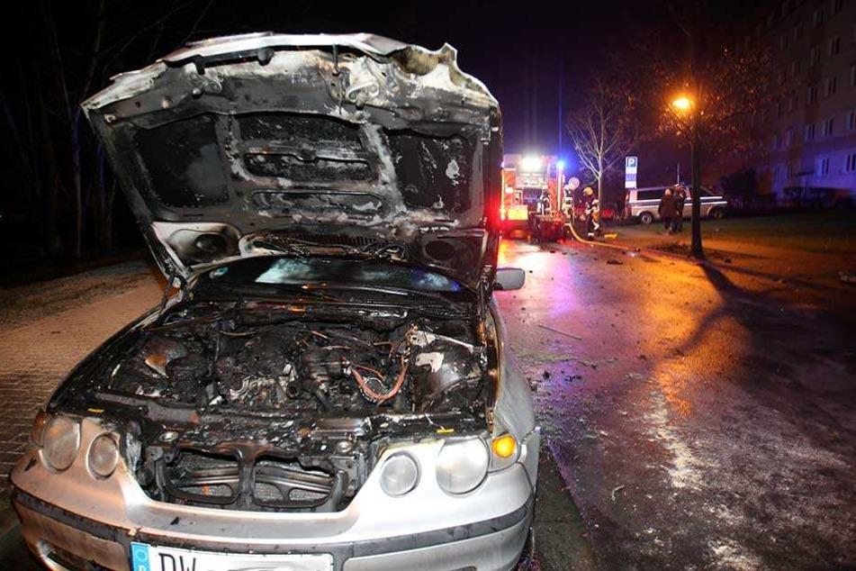 Verursacht wurde das Feuer durch eine Silvesterrakete.