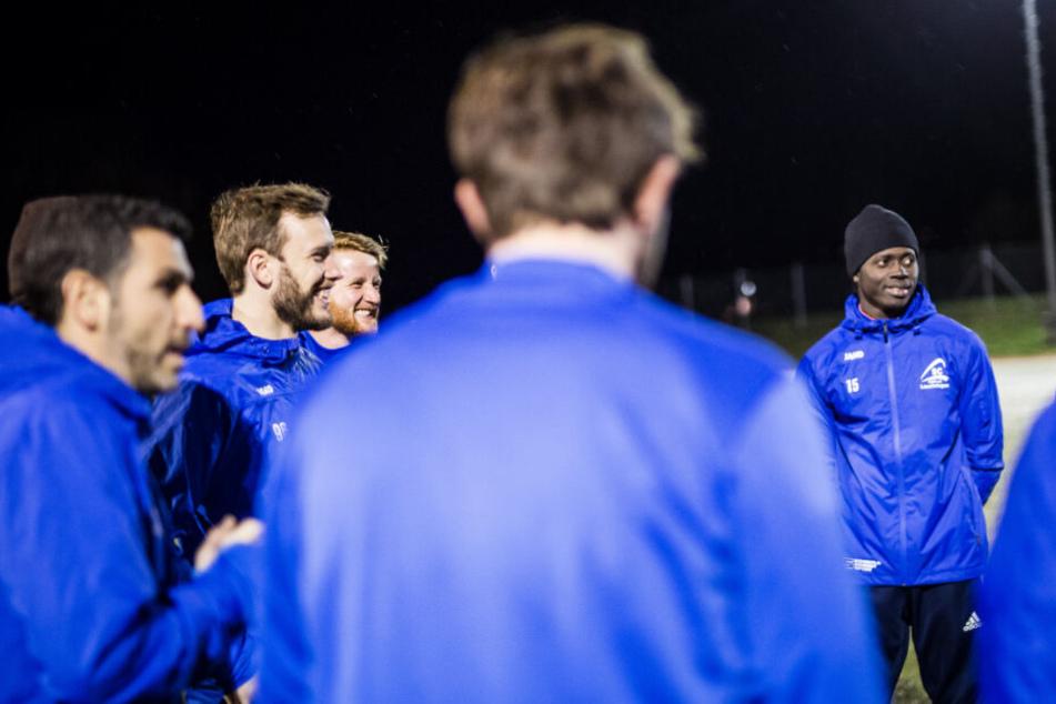 Training des Fußballvereins SC Lauchringen.