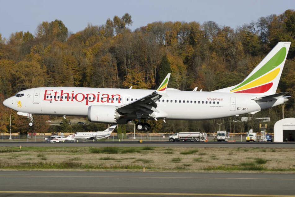 Eine Boeing 737 Max 8 war kurz nach dem Start abgestürzt. (Symbolbild)