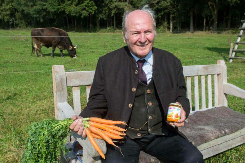 Dafür steht er mit seinem Namen: Claus Hipp wird 80!