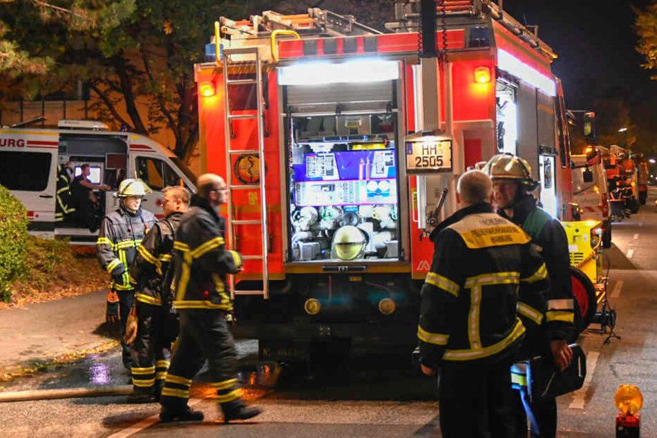 Mit rund 45 Einsatzkräften war die Feuerwehr vor Ort.