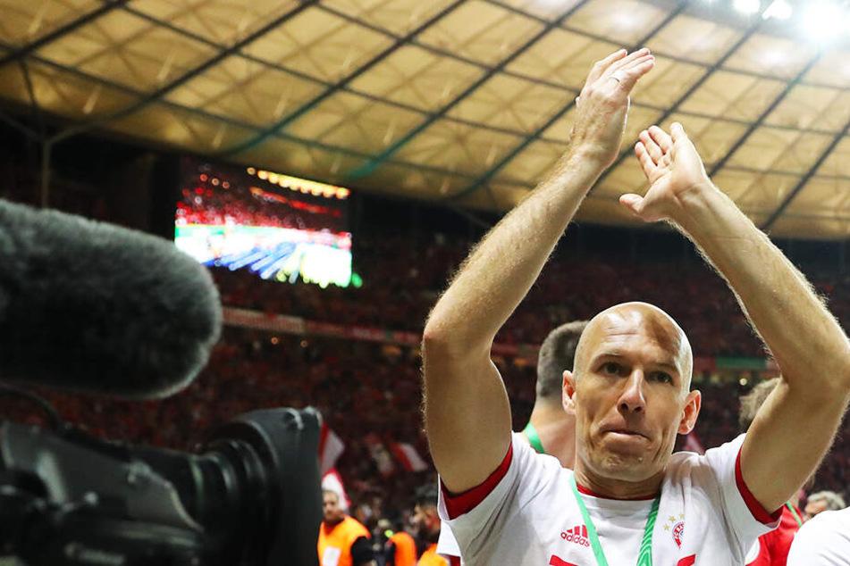 Karriereende! Bayern-Legende Arjen Robben hört auf