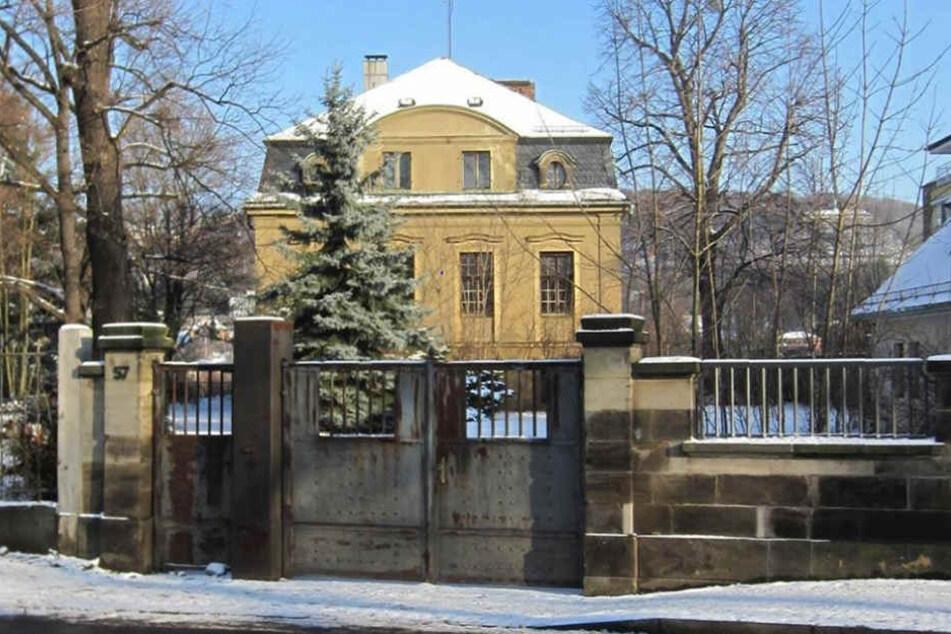 So sah die Villa an der Tolkewitzer Straße 57 in Blasewitz ursprünglich  aus.