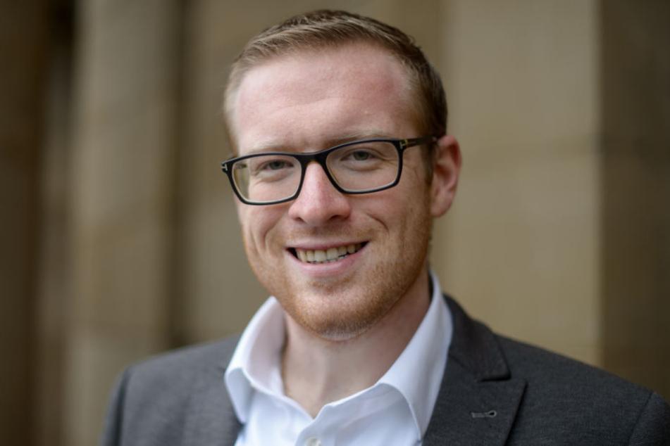 Der zukünftige JU-Vorsitzende in Baden-Württemberg: Philipp Bürkle.