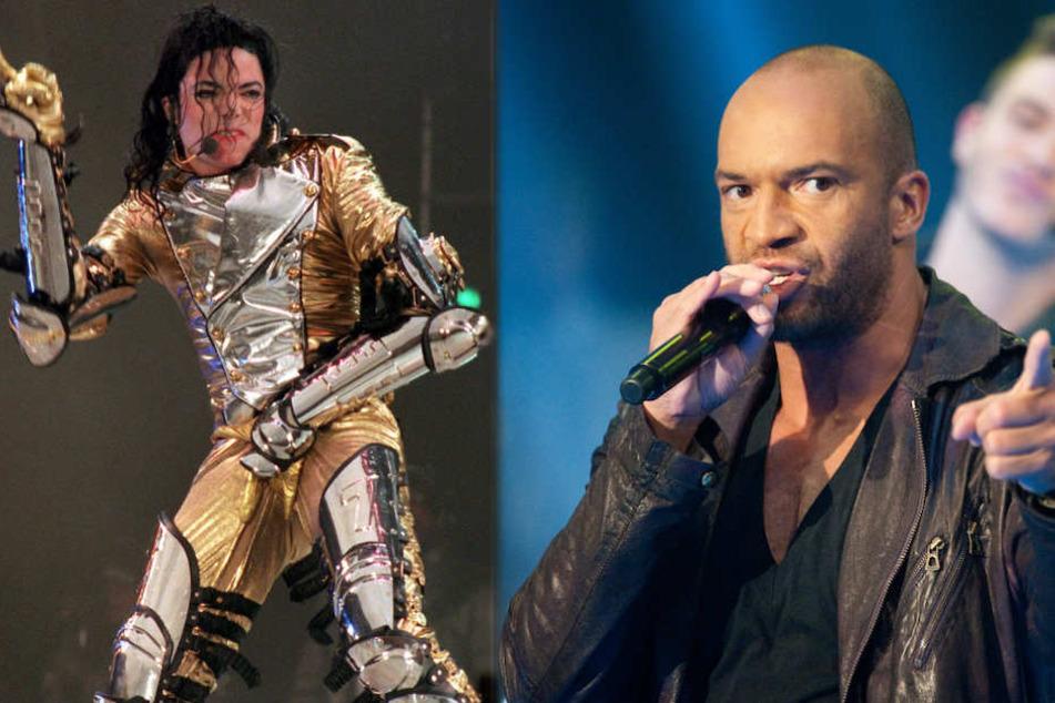 Der Berliner Tanz-Choreograf Detlef D! Soost (48) will den unvergessenen Michael Jackson (†50) mit einem Weltrekord ehren. (Bildmontage)