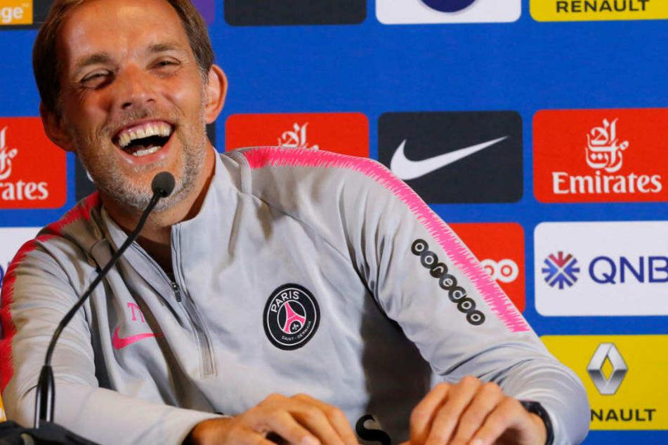 Thomas Tuchel darf sich demnächst über viele deutsche Talente bei PSG freuen.