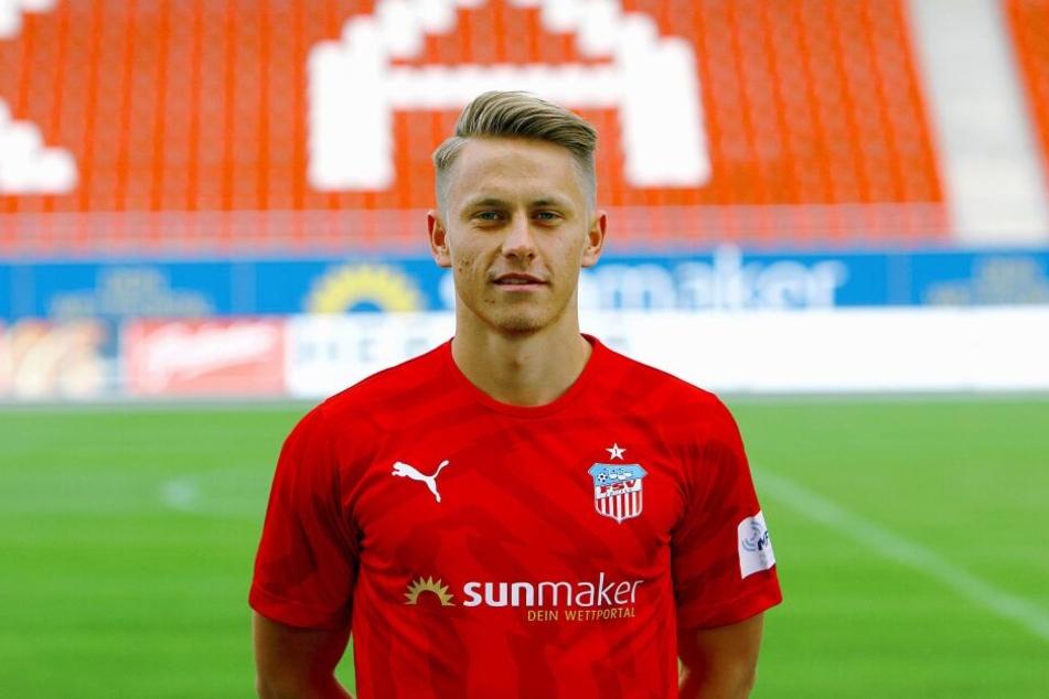 Der FSV-Spieler Sascha Härtel wird nach seiner schweren Verletzung vermutlich operiert.