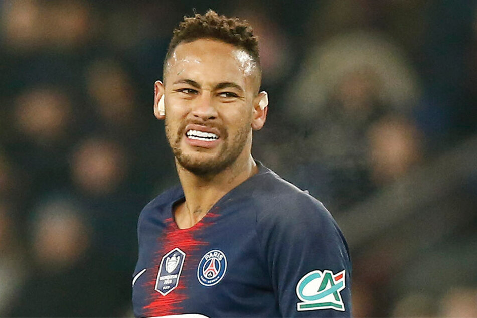 Ärgert sich über das frühe Aus in der UEFA Champions League: Fußball-Star Neymar von Paris Saint-Germain.