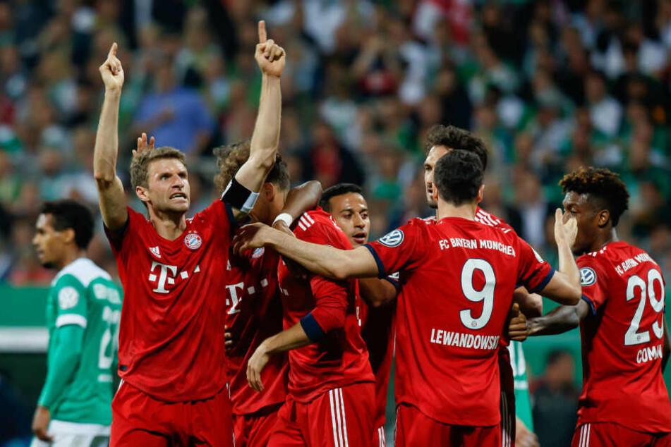 """Müller hatte Grund zur Freude. Er wurde auch """"Man of the Match""""."""