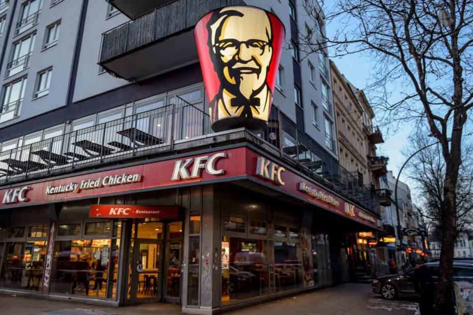 KFC ist eine beliebte Fast-Food-Kette. (Symbolbild)