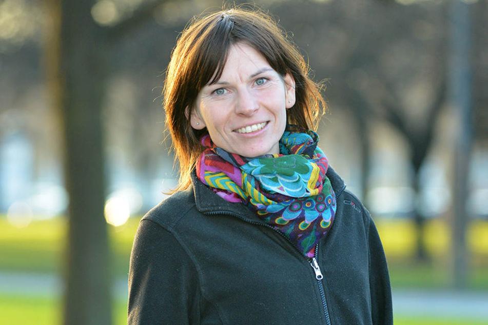 Erklärt die Hitze-Rekorde: Meteorologin Franziska Reinfried (38) vom städtischen Umweltamt.