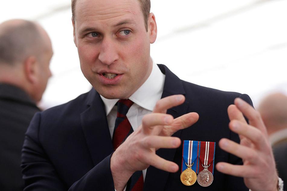 Prinz William ließ es jetzt in der Schweiz richtig krachen.