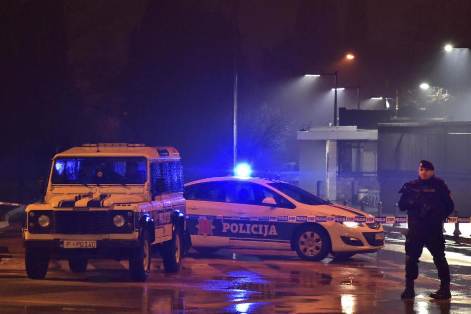Auf die US-Botschaft in dem kleinen Adriastaat Montenegro ist ein Anschlag verübt worden.